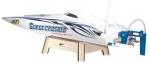 Deep Vee Surge Crusher Super Brushless Racing Boat ARR