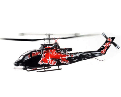 Mini Cobra AH-1 Red Bull RTF Flitework
