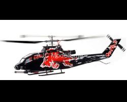 Mini Cobra AH-1 Red Bull RTF Flitework